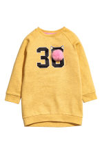 Sweatshirt with a motif - Yellow marl - Kids | H&M CN 2