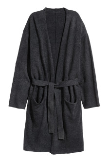 Cashmere-blend dressing gown