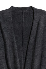 Cashmere-blend dressing gown - Anthracite grey - Home All | H&M CN 3