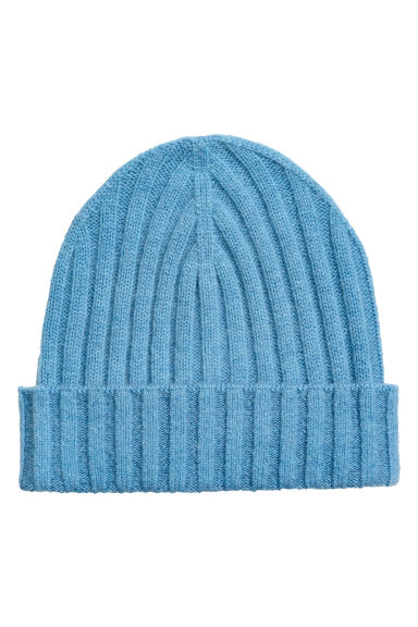 Cashmere-blend hat - Light blue - Ladies | H&M IE 1