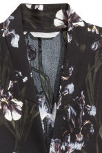 Kimono jacket - Black/Patterned - Ladies | H&M CN 3