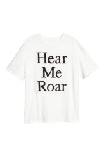 White/Hear me roar