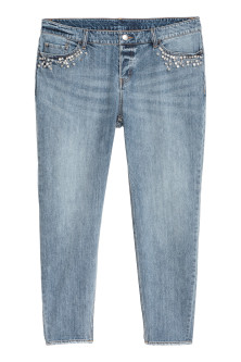 H&M+ Boyfriend Low Jeans