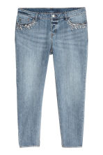 H&M+ Boyfriend Low Jeans - Denim blue/Beads - Ladies | H&M IE 3