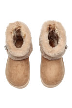 Warm-lined boots - Beige - Kids | H&M CN 2
