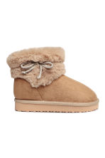 Warm-lined boots - Beige - Kids | H&M CN 1