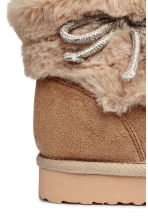 Warm-lined boots - Beige - Kids | H&M CN 4