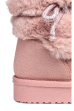 Warm-lined boots - Powder pink - Kids | H&M CN 4