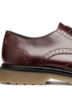 Brogues met robuuste zool - Bordeauxrood - HEREN | H&M NL 4