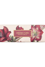 Scatola candele profumate 4 pz - Rosso/Christmas Floral - HOME | H&M IT 4
