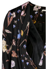 MAMA Nursing blouse - Black/Floral - Ladies | H&M GB 4