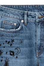 Mom Jeans Trashed - Blu denim/stelle - DONNA | H&M IT 5