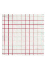 Paper napkins - White/Red checked - Home All | H&M CN 1