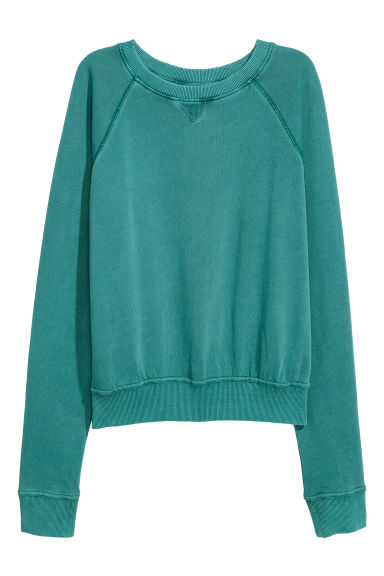 Sweater - Turkoois - DAMES | H&M BE