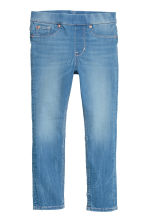 Jegging van superstretchdenim - Denimblauw -  | H&M BE 2