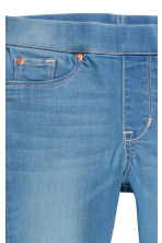 Jegging van superstretchdenim - Denimblauw -  | H&M BE 5
