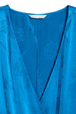 Wrap dress - Bright blue - Ladies | H&M 3