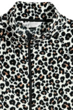 Giacca in pile - Beige/leopardato - BAMBINO | H&M IT 2