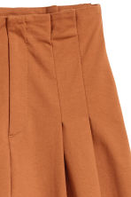 Wide trousers - Terracotta - Ladies | H&M CN 2