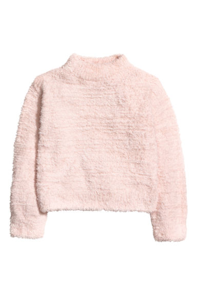 Knitted jumper - Light pink - Kids | H&M CN