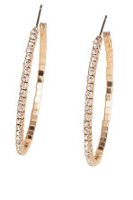 3-pack hoop earrings - Gold-coloured - Ladies | H&M 2