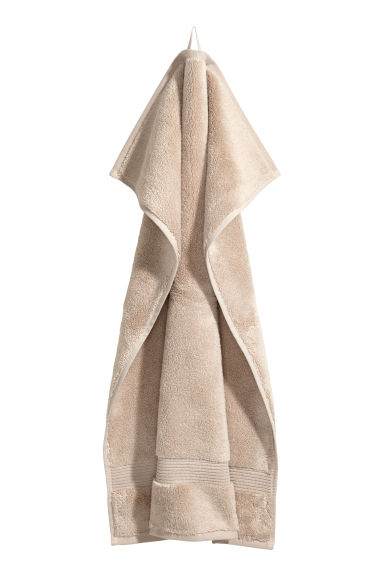 Cotton hand towel - Beige - Home All | H&M GB