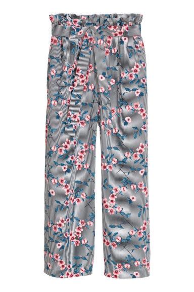 Pantalon ample - Bleu - FEMME | H&M FR 1
