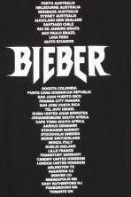 T-shirt with a print motif - Black/Justin Bieber - Men | H&M CN 3