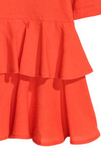 Top en jersey avec volants - Orange - FEMME | H&M FR 3