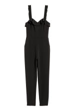 Sleeveless jumpsuit - Black - Ladies | H&M CN 2