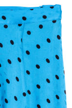 Jacquard-weave skirt - Light turquoise/Spotted - Ladies | H&M IE 3
