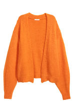 Kofta i ullmix - Orange - DAM | H&M FI 2