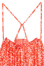 Sleeveless maxi dress - Coral/Patterned - Ladies | H&M CN 3