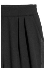 Pull-on side-striped trousers - Black - Ladies | H&M 3