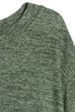 Fine-knit jumper - Green marl - Ladies | H&M CN 2