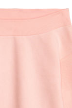 Off-the-shoulder top - Light pink - Ladies | H&M CN 3