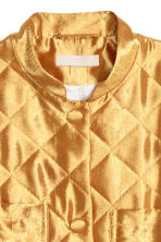 Quilted jacket - Gold-coloured - Ladies | H&M 3