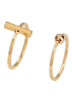 3-pack gold-plated rings - Gold-coloured -  | H&M IE 2