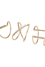 7-pack rings - Gold-coloured - Ladies | H&M CN 2