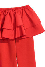 Off-the-shoulder top - Red - Ladies | H&M 3
