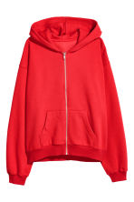 Hooded jacket - Red - Ladies | H&M IE 2
