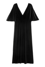 Velour dress - Black - Ladies | H&M 2