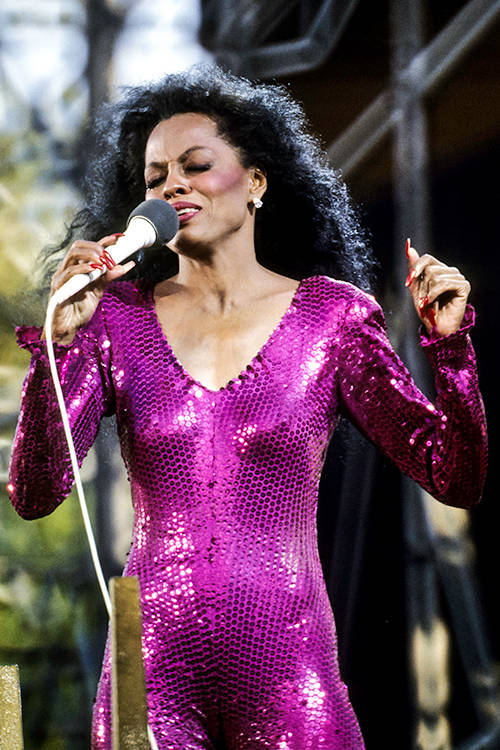Diana Ross, Getty Images.