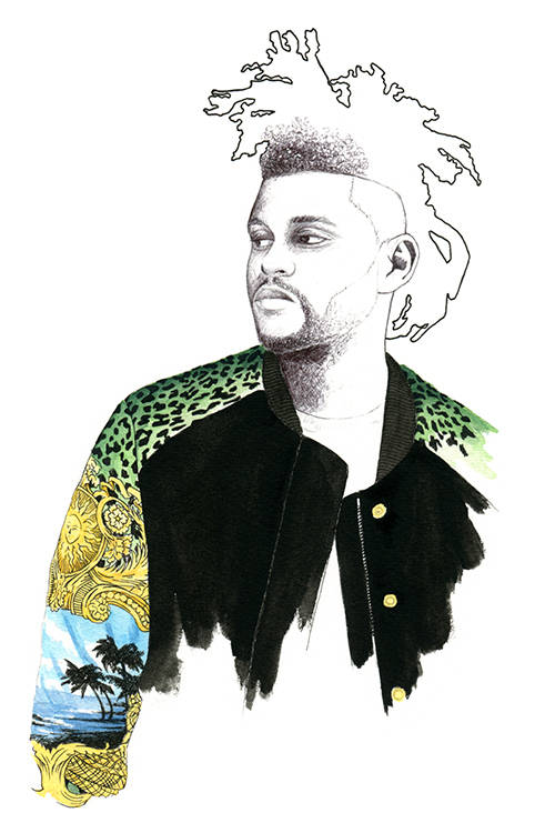 The Weeknd by Florian Meacci.