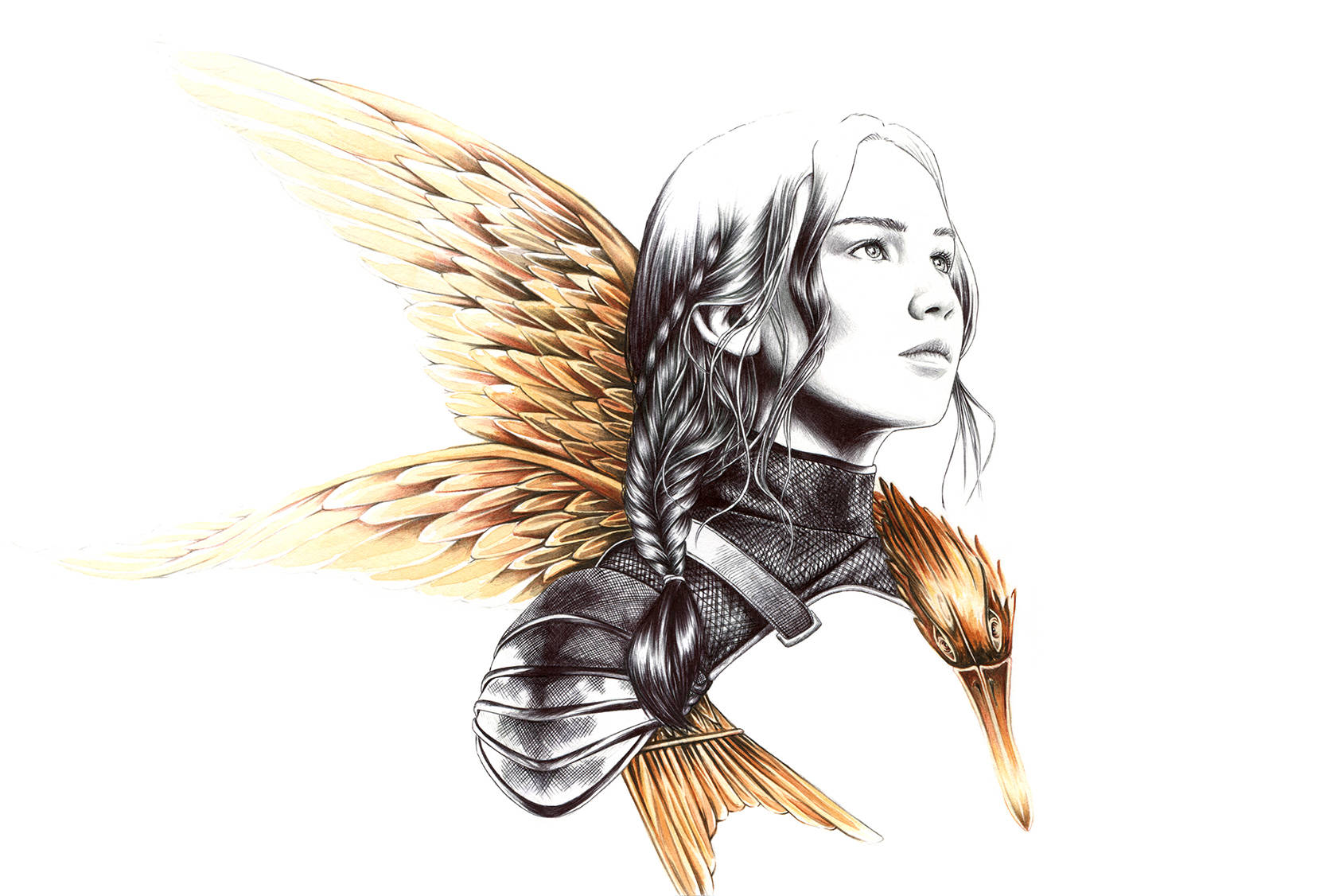 Katniss Everdeen by Florian Meacci.