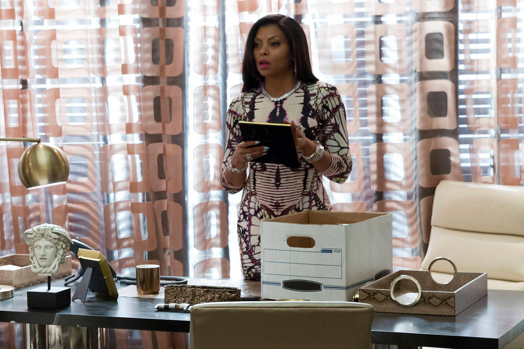 You can follow Cookie in the second season of Empire on FOX, Getty Images.