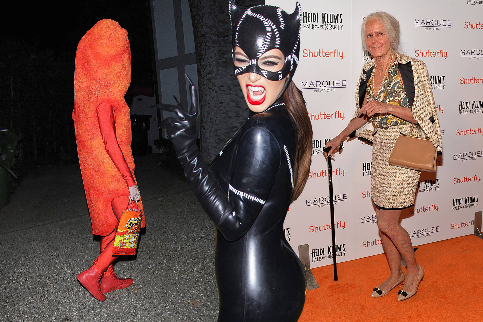 Katy Perry, Kim Kardashian and Heidi Klum know how to celebrate Halloween, Getty Images.
