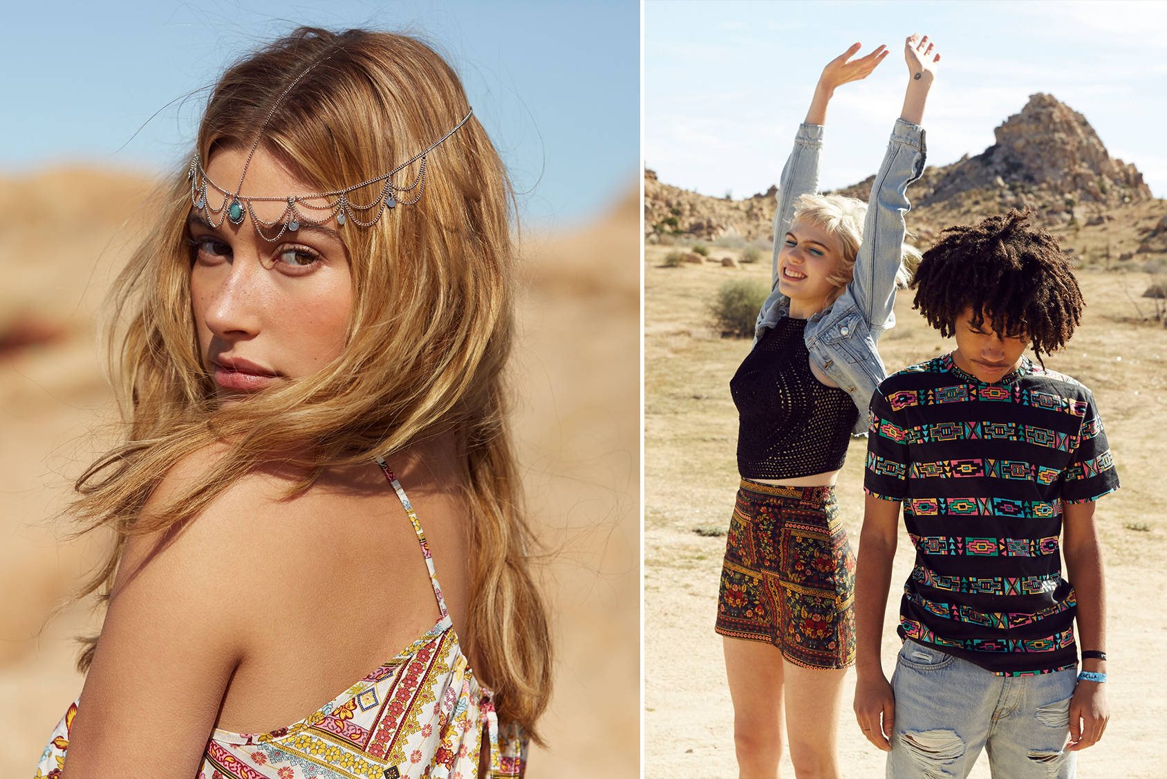 The #HMLovesCoachella collection launches on March 24 in the US, and globally on March 31.