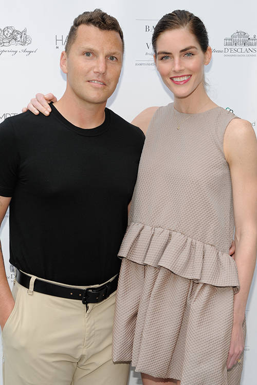 Hilary Rhoda and husband Sean Avery, Getty Images.