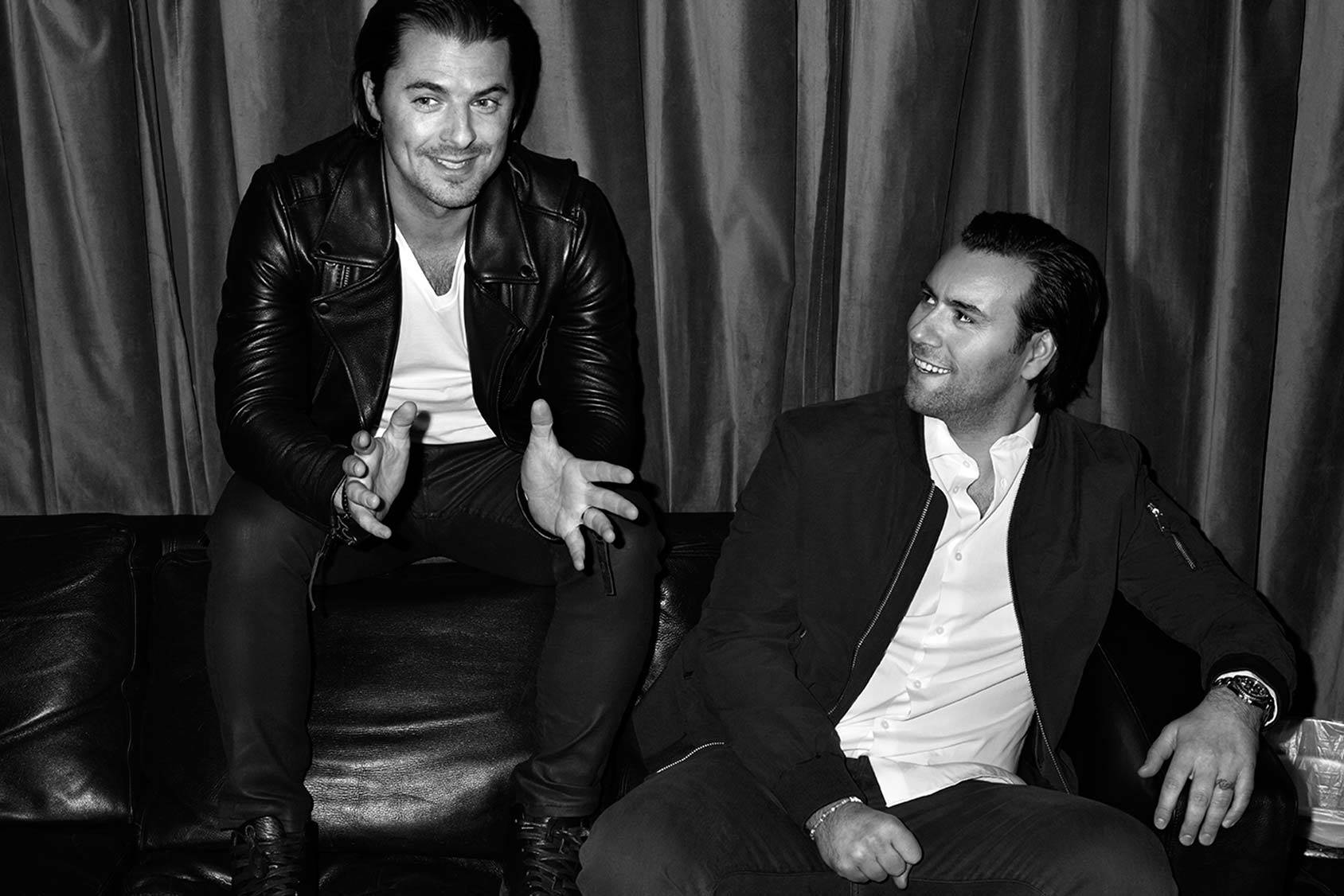 Swedish super duo Axwell and Ingrosso.